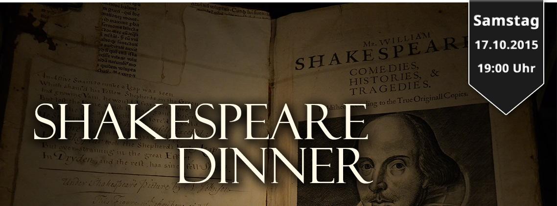 2015-10-03 Shakespeare Dinner